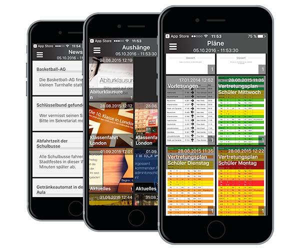 Abbildung DSB-App