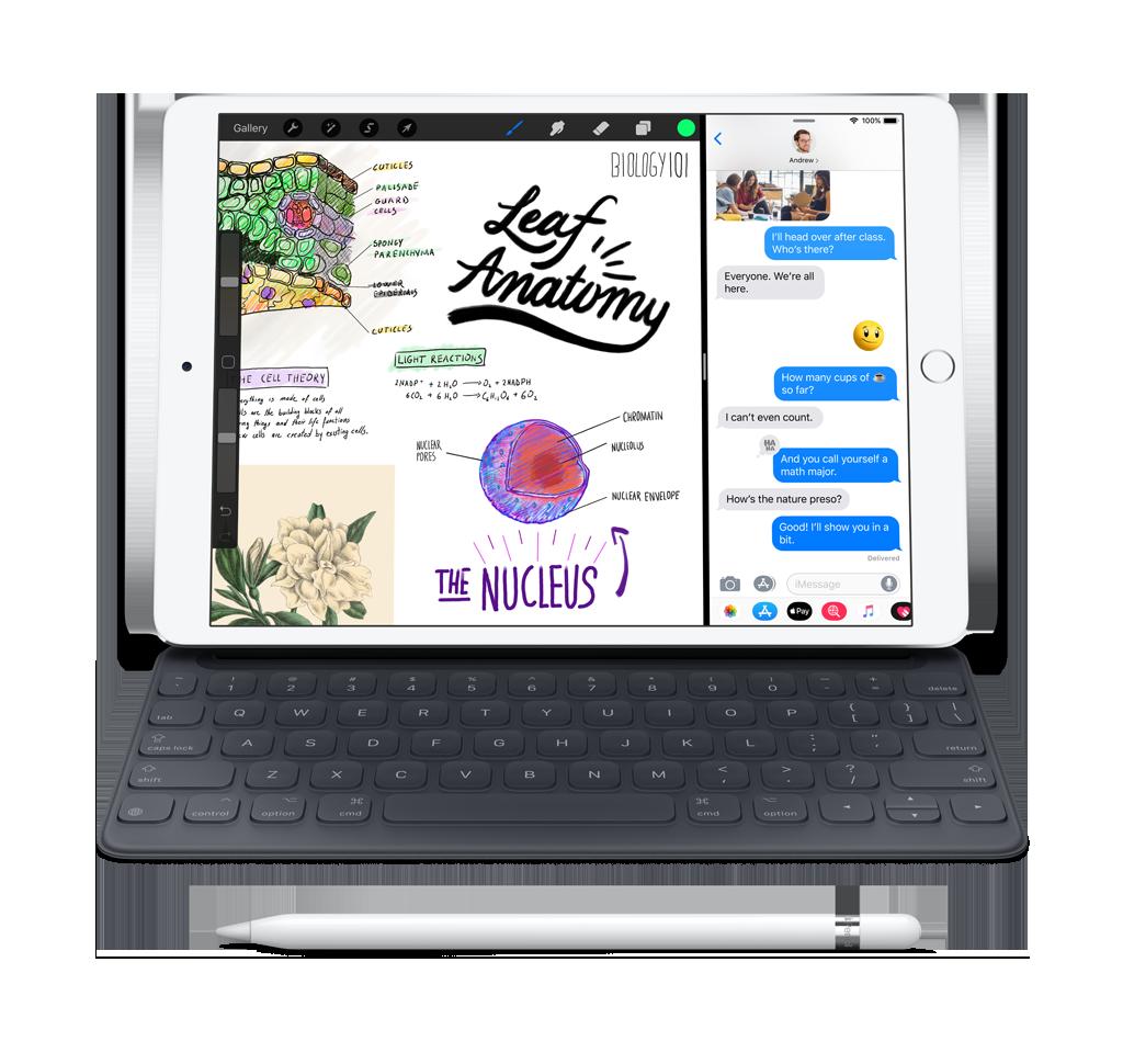 Produktbild Apple iPad mit Tastatur