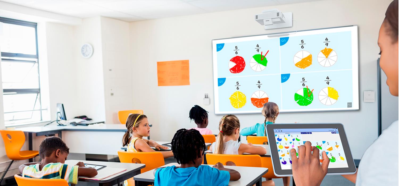 Das interaktive Klassenzimmer mit Epson